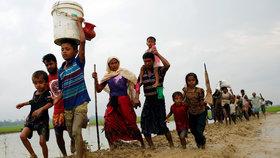 Brutální čistka muslimů: Z Barmy prchlo víc než milion lidí