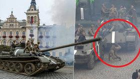 Nebezpečné natáčení filmu Jan Palach: Komparzistu skolila hlaveň tanku