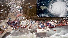 Hurikán Irma smetl celý ostrov v Karibiku. Zabil 10 lidí včetně dítěte, ničil domy