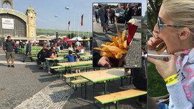 Grilované hovězí provonělo Holešovice: Na výstavišti začal největší festival burgerů v Evropě