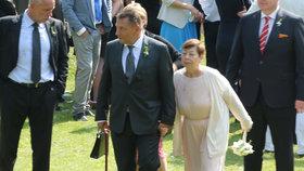 Na svatbě Paroubkových chyběla Margaritka: Je to Petřin naschvál, soptí expremiér