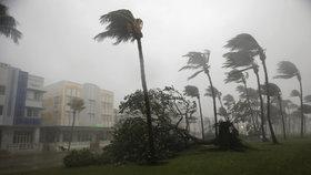 Irma na Floridě zabíjí. Přes milion lidí je bez elektřiny