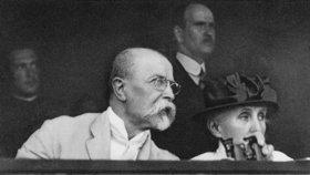 První vánoční projev Tomáše G. Masaryka promítali i v USA: Započal tím oblíbenou tradici