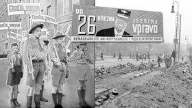 Rechts fahren! Před 79 lety začali Pražané jezdit vpravo, došlo by k tomu i bez Hitlera