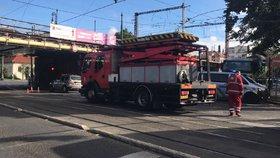 Mezi Výtoní a Modřany nepojedou tramvaje. Výluka bude platit přerušovaně
