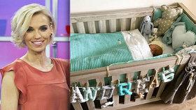 Mašlíková měsíc po porodu: Pochlubila se fotkou syna. Tentokrát i s hlavičkou!