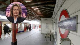 Buďte ve střehu, vzkázala ministryně Britům. Podezřelé z útoku v metru vyslýchá policie