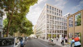 Místo opravny starých aut budou v Karlíně kanceláře: Praga Studios spolknou 700 milionů