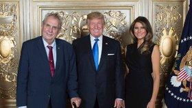 Zeman míří do Varšavy, Trump účast ruší. Kvůli hurikánu, který míří na Floridu