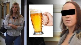 Modelka Sarah (23) rozbila Denise (17) sklenici o obličej: Hrozí jí 12 let! Udělala to už potřetí!