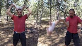 Otec z pekla hází s dcerkou (4 měs.) jako s hadrovou panenkou. Praskají jí kosti, říká