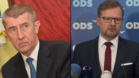 ODS okřikla Novu a Primu kvůli debatě Babiše s Fialou. V Blesku se zřejmě utkají