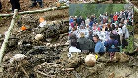 Děsivý nález: Experti zkoumají další masový hrob. Se zavražděnými bosňáckými Muslimy
