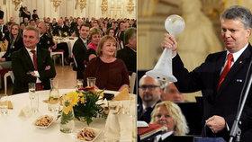 """Policistovi roku tleskala i Ivana Zemanová. """"Drogy jsou smrt a neštěstí,"""" říkal"""