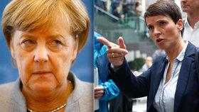 """Válka žen: Kritička Merkelové nasupeně odešla. """"Radikálové"""" se hádají mezi sebou"""