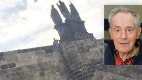 Co se asi Janu Třískovi (†80) na mostě honilo hlavou? Děsil se stáří!
