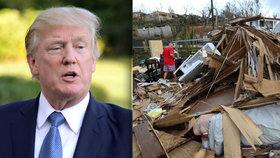 Trump konečně okomentoval zkázu Portorika. Místo pomoci mu připomněl obří dluh