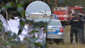 Po havárii Cessny na Českolipsku dva mrtví. Pilot letěl za obchodem do Polska