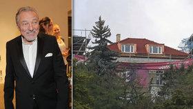 Rekonstrukce vily na Bertramce bude do Vánoc hotová! Gott ale neví, jestli se mu chce zpátky