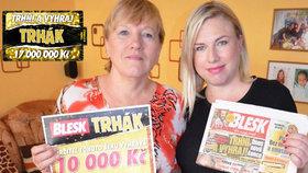 Šťastná Zdeňka Beilová (62) z Opavy: Vyhrála jsem poprvé v životě! Deset tisíc k narození 6. vnoučka
