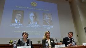 Nobelovu cenu za lékařství získala trojice Američanů. Zkoumali biologické hodiny