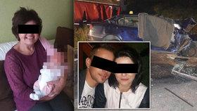 Mladá rodina zahynula při srážce s náklaďákem: Jak teď budeme žít, pláče matka Martina (†32)