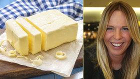 Další hokejová družka řeší máslo. Kobzanová přispěchala s podivnou fotkou!