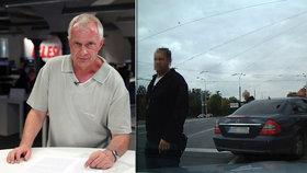 Expert o problikávání, kvůli kterému napadli řidiče v Plzni: Pokuta i projev agresivity