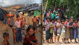 Vzniká tábor až pro 800 tisíc uprchlíků. Míří sem muslimové z Barmy