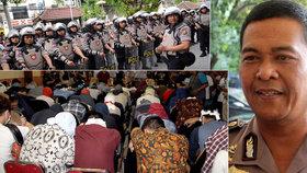 Razie v sauně: V Indonésii pozatýkali 58 mužů, všichni jsou prý gayové