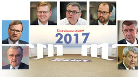 """Superdebata: Ve středu se v Blesku sejde všech 7 hlavních lídrů. Kdo bude největší """"žvanil""""?"""