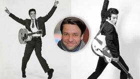 Neuvěřitelná kalendářová proměna herce Václava Neužila: Elvis Presley žije!