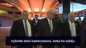 """""""Vyžeňte ho, nebo ho zabiju."""" Zeman má na krku další skandál ve Štrasburku"""