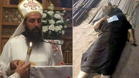 Útočník ubodal kněze, který přijel do Káhiry. Zranil i dalšího duchovního