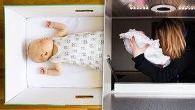 Novorozenou Barunku odložila matka jen v župánku na radnici: Našli ji v babyboxu