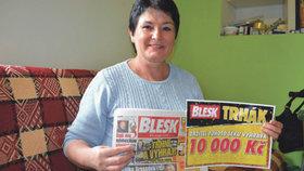 Vlasta Maroszová (56) z Ropice: Nevěřila, přesto vyhrála!