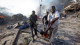 Krvavá exploze roztrhala 230 lidí. Jde o největší útok v Somálsku v historii