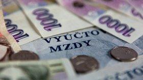 Průměrná mzda v Česku stoupla na rekordních 31 851 korun. Jaká je ve vašem kraji?