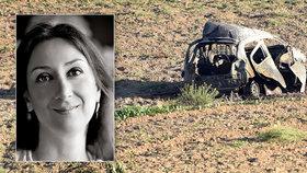 Známou investigativní novinářku (†53) zabila bomba v autě. Premiér: Barbarské