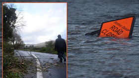 Hurikán Ophelia si zatím vyžádal 3 oběti. Dál zuří nad nad Irskem a Velkou Británií