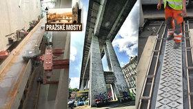 Životnost Nuselského mostu byla v ohrožení: Zatékalo až do tubusu metra!