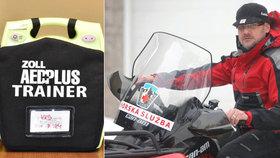 Náčelník horské služby pomáhá i po smrti: Krkonoše se vyzbrojí defibrilátory