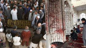 """""""Všude u mešity ležela mrtvá těla."""" Po útoku ISIS zahynulo 56 lidí"""