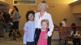 Jana Švandová se konečně pochlubila vnoučaty: Jsem šťastná, že je tu mám!