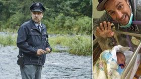 Policajt Jasňačka z Policie Modrava: Pochlubil se fotkou syna rovnou z porodnice!