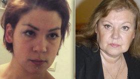 Herečce Blaškovičové vyhrožovala dcera zabitím: Drogy ji posunuly mimo realitu, říká