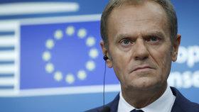 Kvóty jsou neefektivní a štěpí EU, říká šéf Evropské rady. Uprchlíky musíme vracet