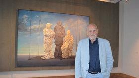 Oscarový výtvarník Theodor Pištěk: Umírá mi kamarád za kamarádem a s Formanem už se nevídáme!