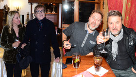 Žbirkova žena o tajné oslavě zpěvákových narozenin: Bála jsem se, že ho klepne!