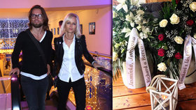 Smutná Karin Babinská: Vzpomínala na mrtvého tátu